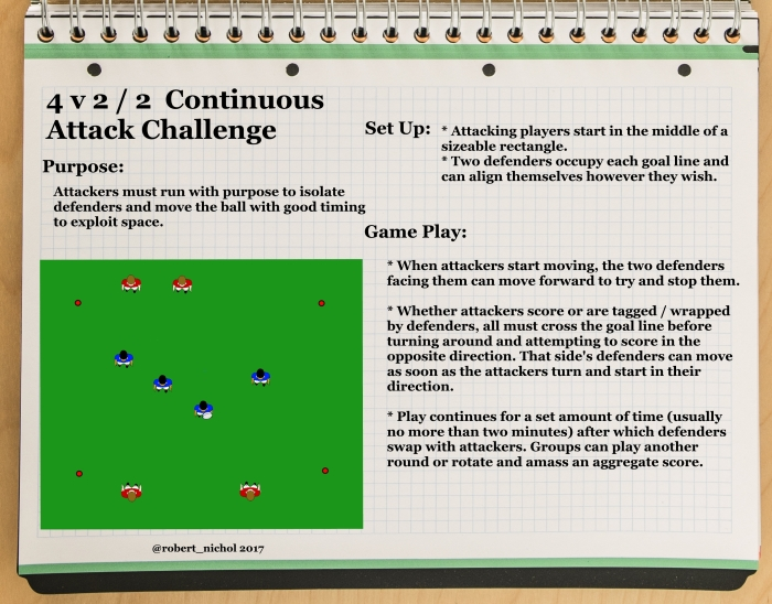 4 v 2+2 Continuous Attack Challenge