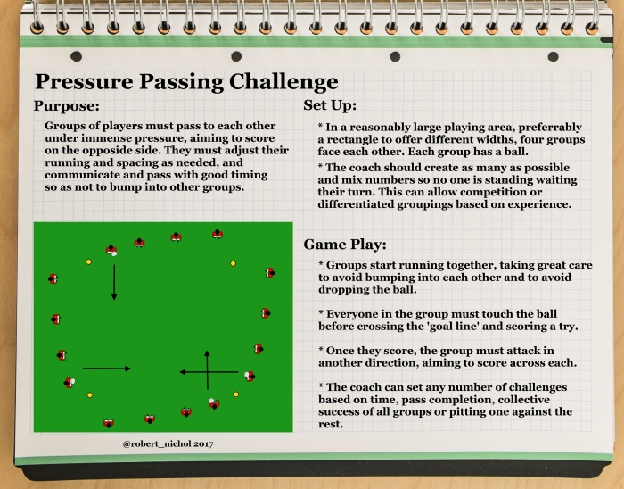Pressure Passing Challenge