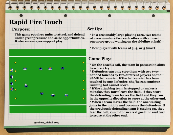 Rapid Fire Touch
