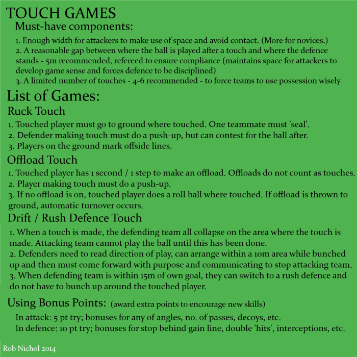 Touch Games