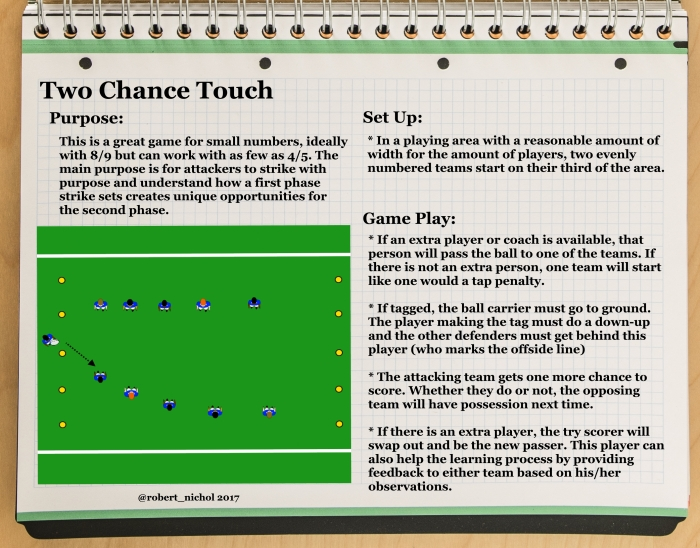 Two Chance Touch